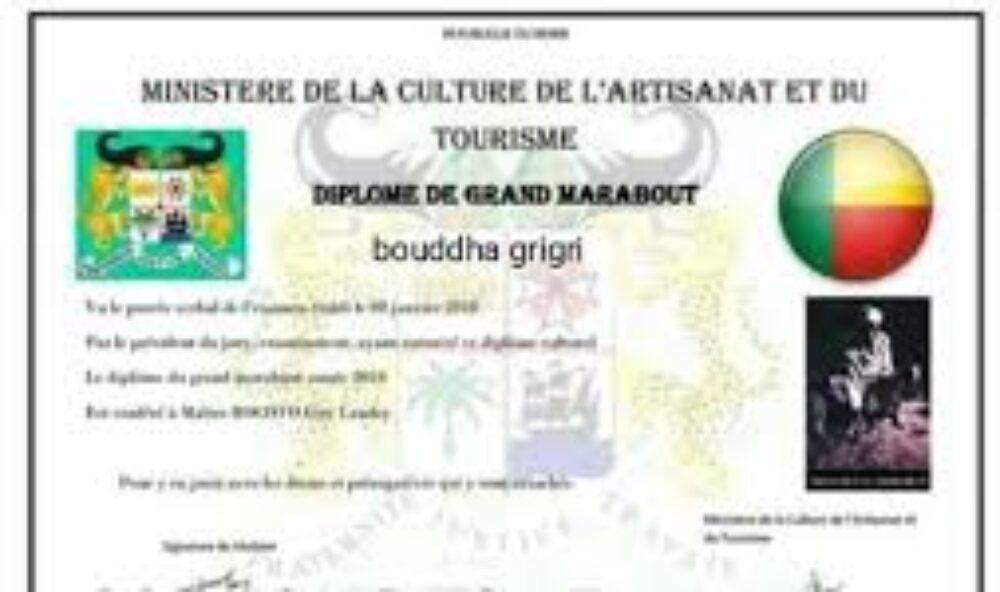 LE PLUS PUISSANT MARABOUT D'AFRIQUE ET DU MONDE