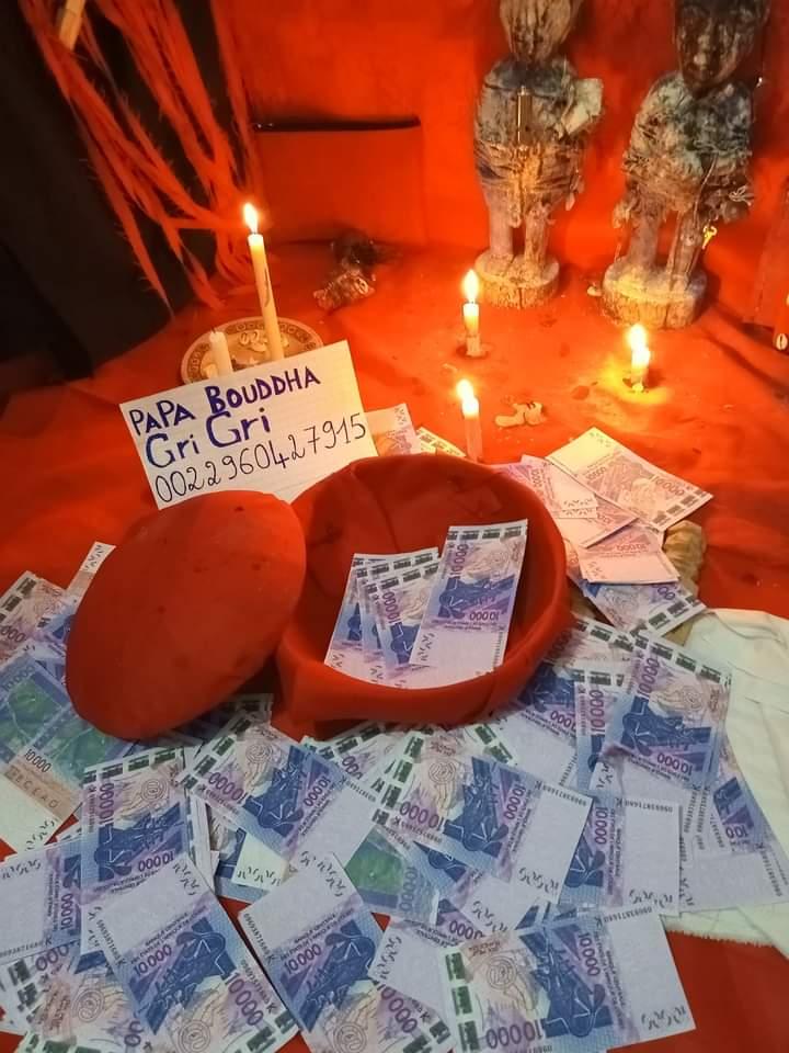 Bedou magique appelé en français portefeuille magique ou porte monnaie magique en côte d'ivoire